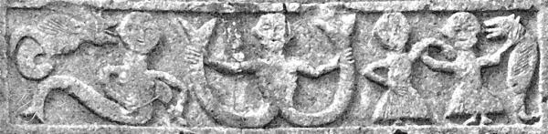 La sirena bicaudata della Pieve di Corsignano