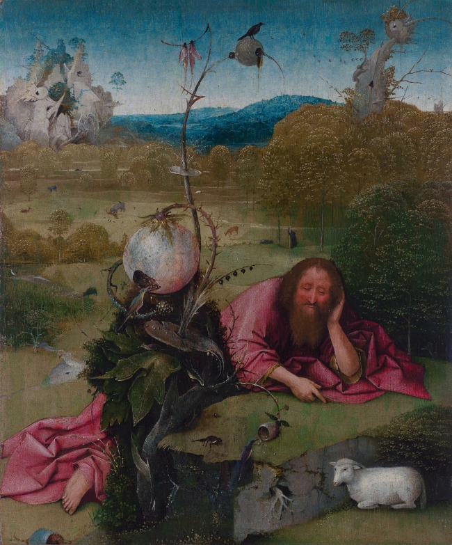 Saint John the Baptist, by Jheronimus Bosch