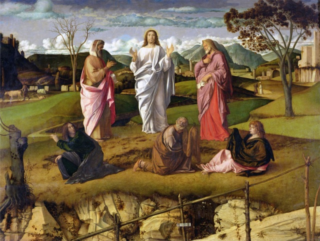 The Transfiguration, 1480 (oil on panel)