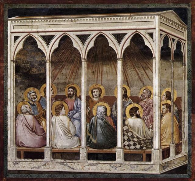 giotto_di_bondone_-_no._39_scenes_from_the_life_of_christ_-_23._pentecost_-_wga09227